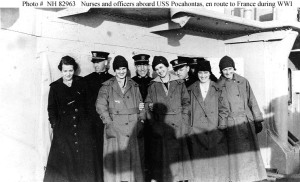 Navy Nurses go to France